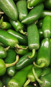Piments verts Jalapeños