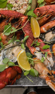 Fruits de mer en mélange
