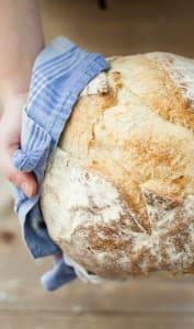 Boule de pain de campagne fait maison