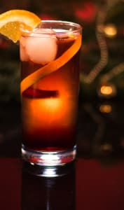 Long drink cocktail