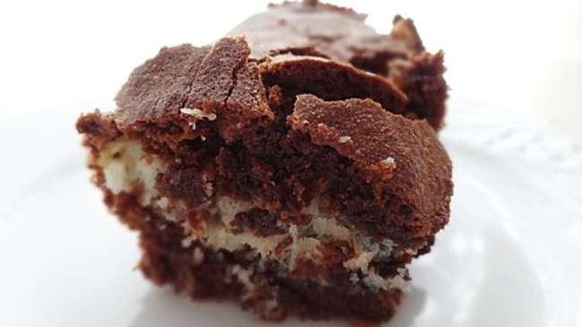 brownie chocolat noix de coco par the first taste. Black Bedroom Furniture Sets. Home Design Ideas