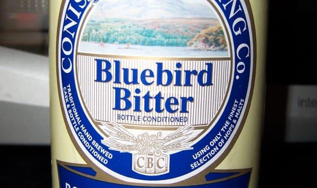 Bouteille de Bluebird Bitter