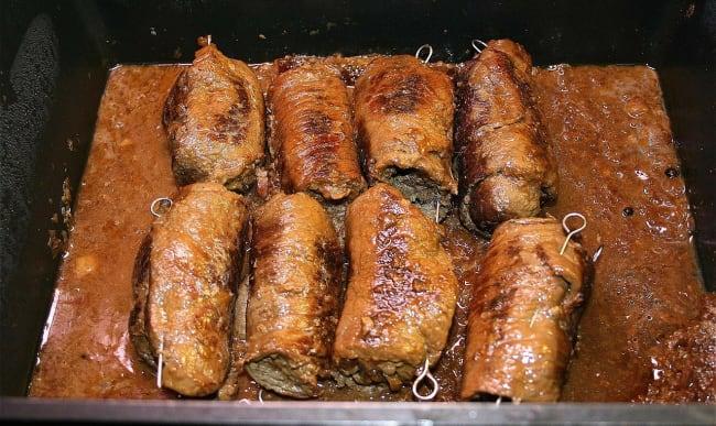 Involtini de porc
