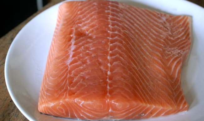 Filtet de saumon