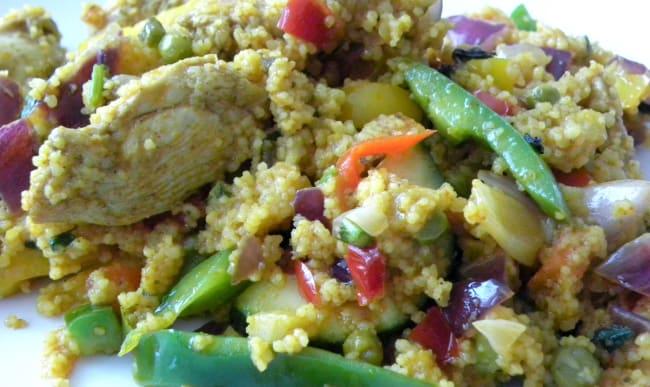Couscous au poulet pour Yom Kippour