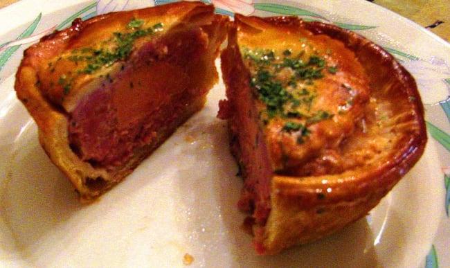 Croustade au foi gras