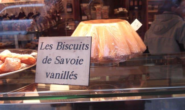 Biscuit de Savoie à la vanille