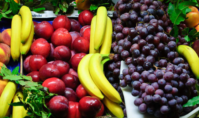 Etal de fruits