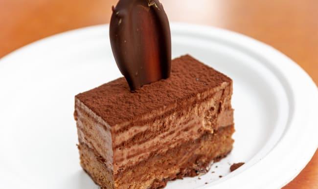 Part de royal au chocolat