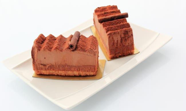 Parts de gâteau Trianon (ou Royal au chocolat)