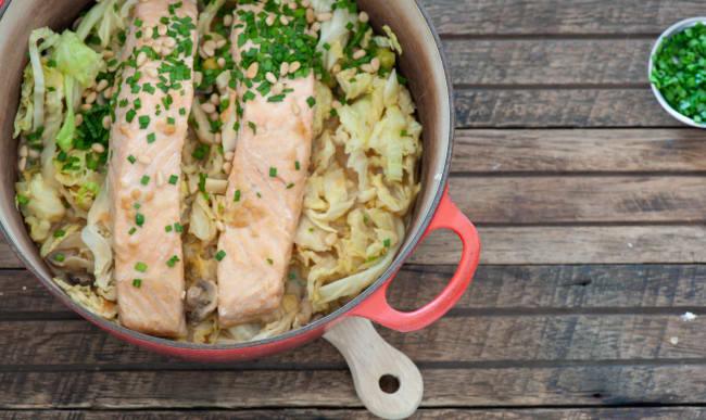 One pot saumon au miso