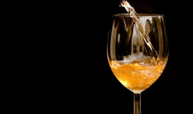 Verre de cocktail au cidre