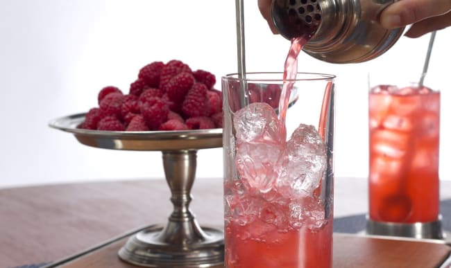Cocktail au shaker