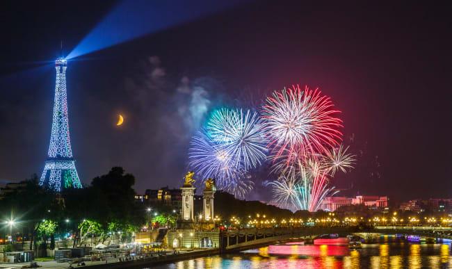 Feu d'artifice Paris