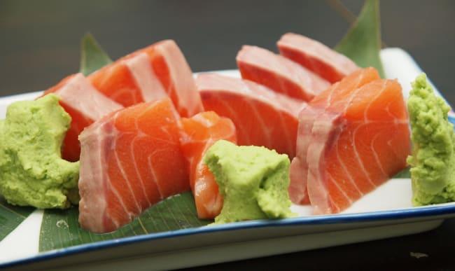 Plateau de sashimis