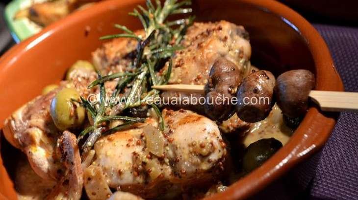 lapin olives vertes