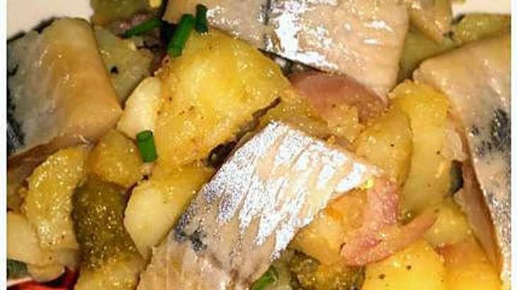 salade de pommes de terre au hareng fum recette par catalina le blog de cata. Black Bedroom Furniture Sets. Home Design Ideas