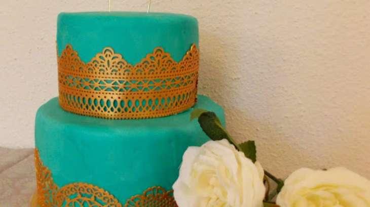 Wedding Cake Citron Vert