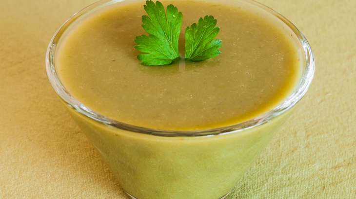 Soupe facile aux haricots verts recette par kilometre 0 - Cuisiner haricots verts surgeles ...