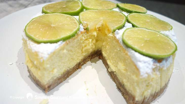 Chef Simon Cheese Cake Citron