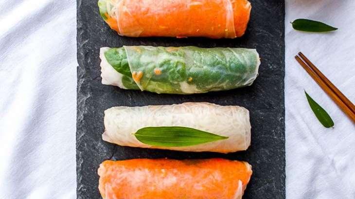 rouleau de printemps d hiver vegan gluten free recette par amande et basilic. Black Bedroom Furniture Sets. Home Design Ideas