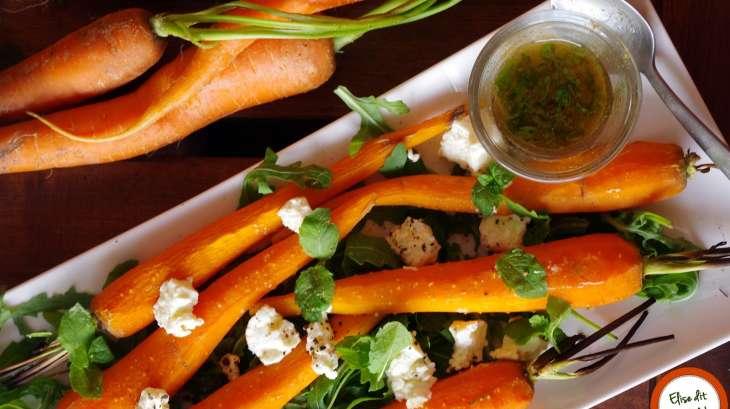 carottes grill es au cumin et la menthe recette par elise dit table. Black Bedroom Furniture Sets. Home Design Ideas