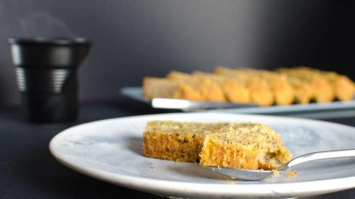 recette de cake au potiron et noisettes recette par les recettes de m lanie. Black Bedroom Furniture Sets. Home Design Ideas