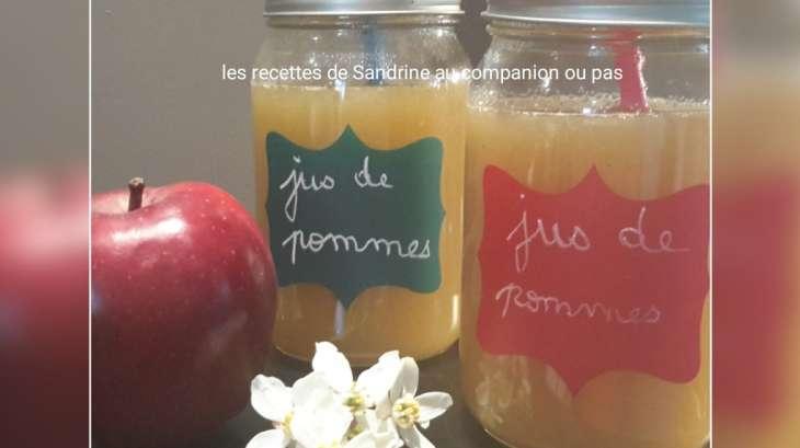 jus de pommes fait maison sans centrifugeuse recette par recettes au companion ou pas. Black Bedroom Furniture Sets. Home Design Ideas