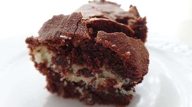 brownie chocolat noix de coco recette par the first taste. Black Bedroom Furniture Sets. Home Design Ideas