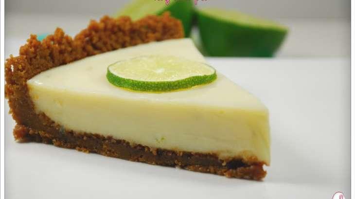 key lime pie tarte au citron vert et speculoos recette par la dinette de nelly. Black Bedroom Furniture Sets. Home Design Ideas