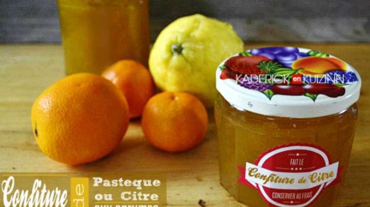 recette confiture citre