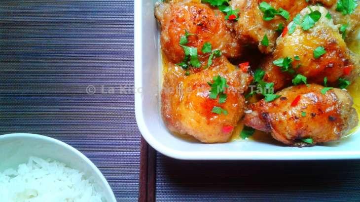 poulet la citronnelle recette par la kitchenette de miss t m. Black Bedroom Furniture Sets. Home Design Ideas