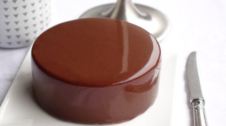 gla age miroir au chocolat noir par empreinte sucree. Black Bedroom Furniture Sets. Home Design Ideas