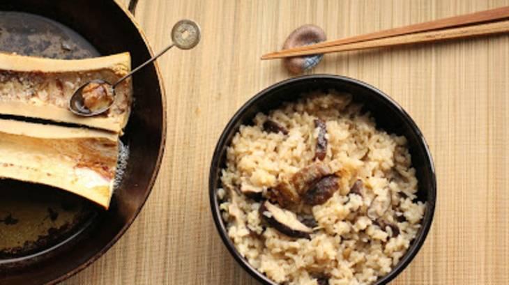 Riz japonais l 39 os moelle par un peu gay dans les coings - Recette riz japonais ...