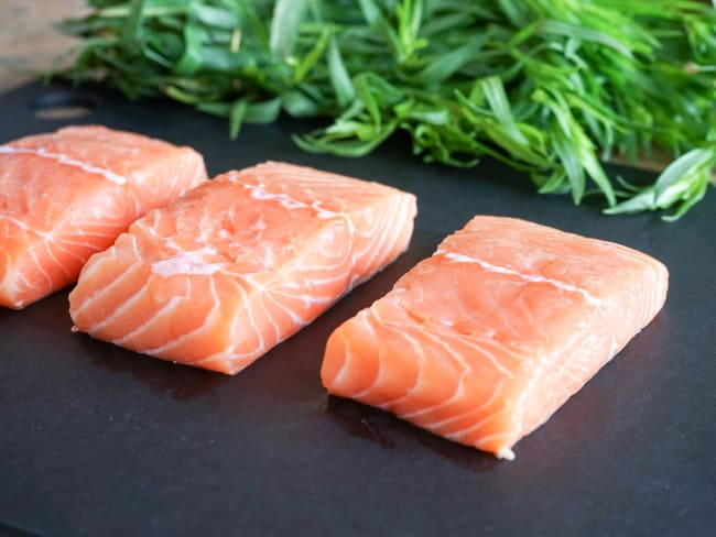 Proportions et grammages des poissons