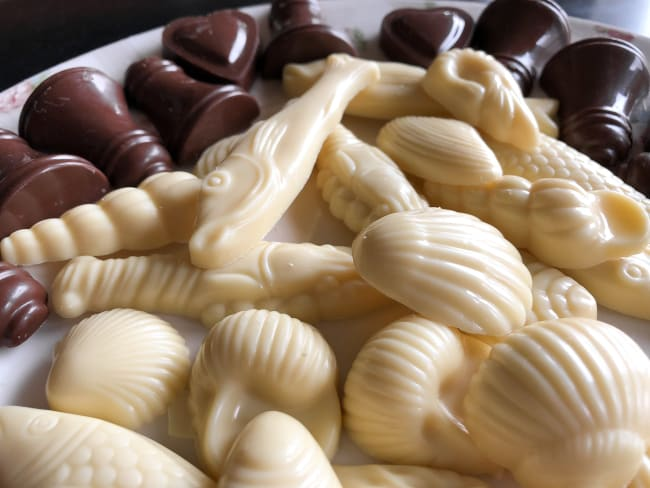 Moule à chocolat friture