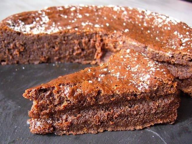 Gâteau chocolat caramel