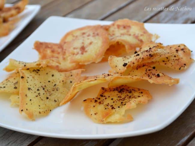 Chips de blancs d'oeufs aux épices