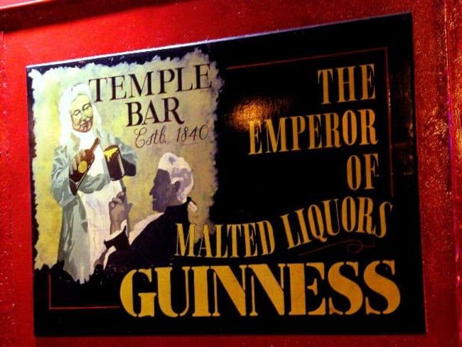 cocktail Saint Patrick Black Velvet - Guinness - Champagne!
