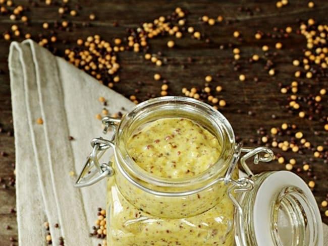 Moutarde à l'ancienne maison