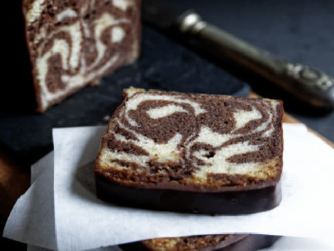 Cake marbré selon François Perret