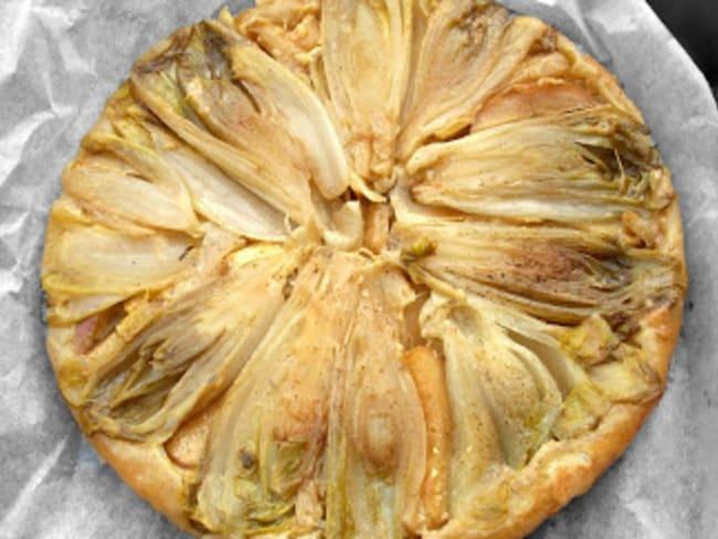Tatin d'Endives, Calva, Pomme et Camembert