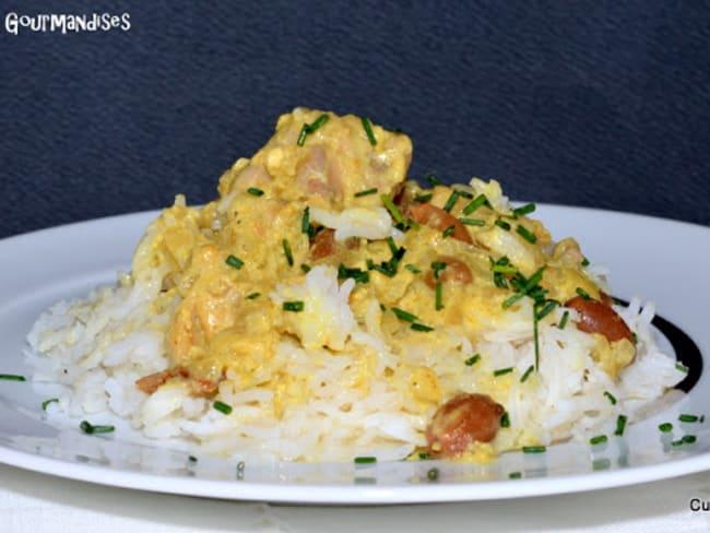 Curry de lapin