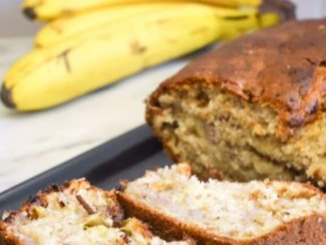Banana bread gourmand
