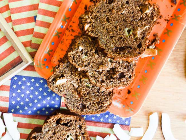 Banana Bread chocolat et noix de coco