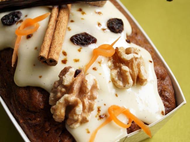 Carrot cake ultra moelleux aux raisins secs