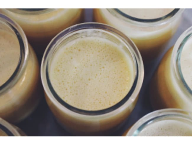Crèmes citron/noisettes