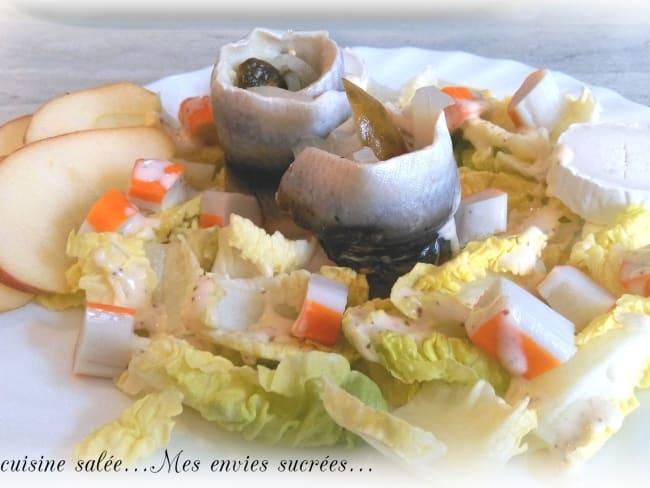 Salade rollmops