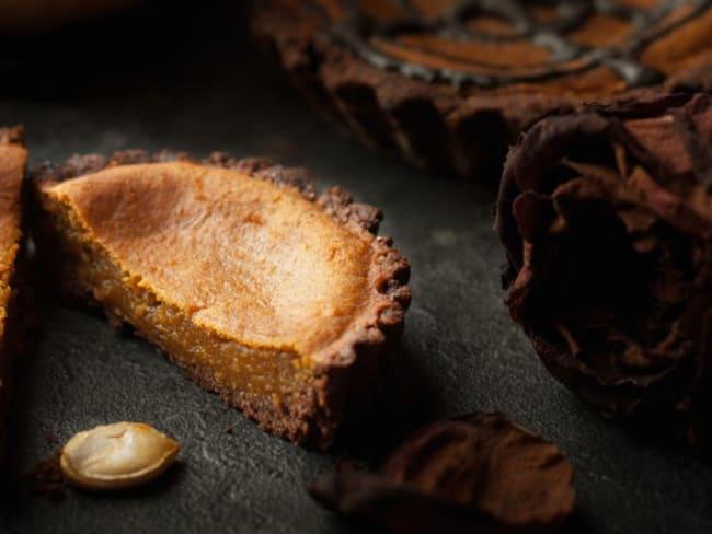 Tartelettes potimarron et chocolat