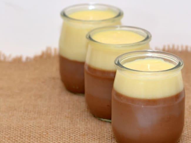 Crème aux 2 chocolats Bonneterre.